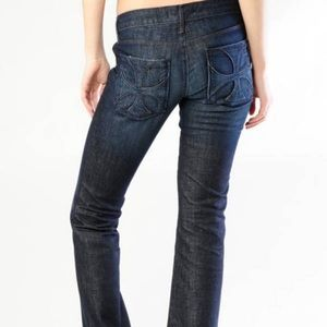 "HABITUAL ""Nocturnal"" Boot Cut Jeans Size 26 31x33"